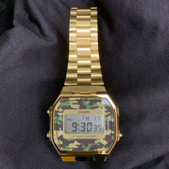 CASIO - A168WEGC-3D - Gold
