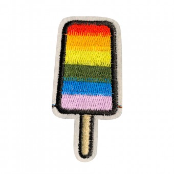 Badge Rainbow Popsicle - Characterized your briefs now [4149]