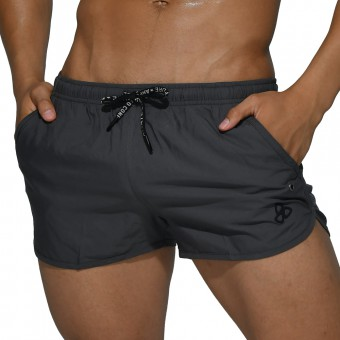 beFIT Sweat Running Shorts - Grey [4059]