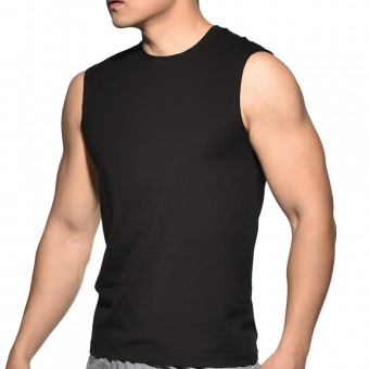 BeFit Sweat Casual Fit Muscle Tee-Black  [3429]