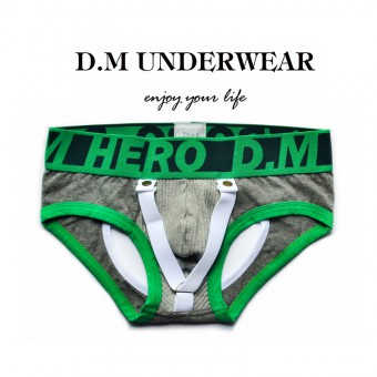 D.M Men Underwear Mini Brief Green [4153]