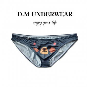 D.M Men Underwear Mini Brief Navy [4156]